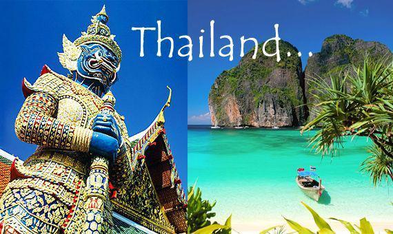 Открытка с тайландом