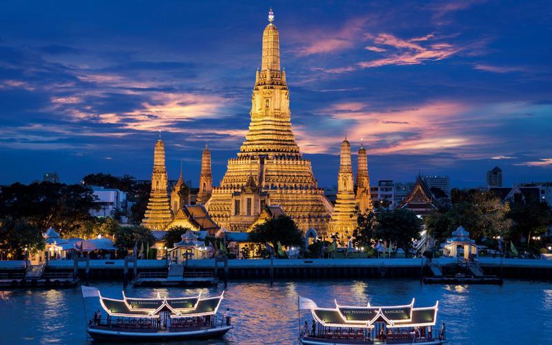 в какие города тайланда есть прямое сообщение из пекина
